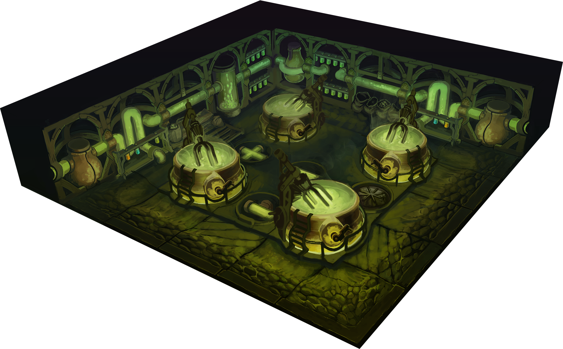 the alchemy lab As of patch 308, alchemy labs are nearly relics of the past, as there are only two recipes left that still require one: the [mercurial stone] and the [alchemist's stone.