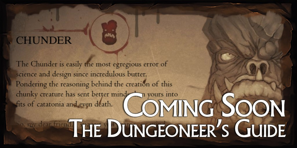 Dungeoneers Guide Large Banner