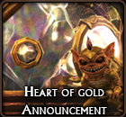 Heart of Gold Small