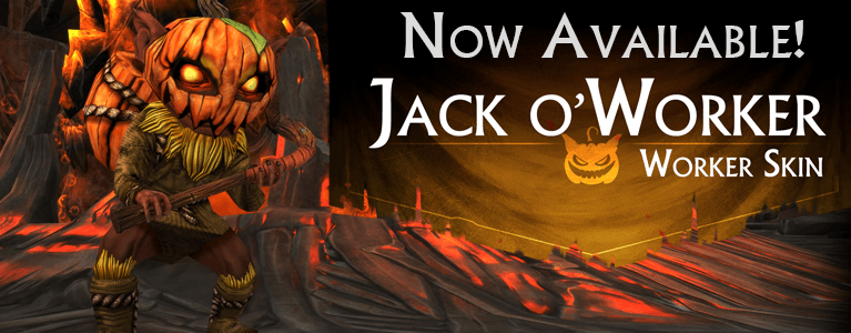 Jackoworker Carosel