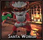 Santa worker Icon