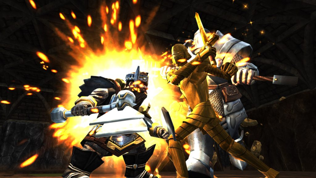 Sentinel and Dwarf Combat