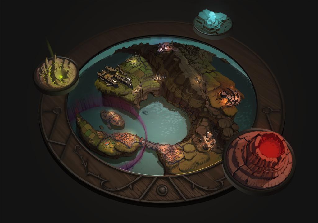 campaign map concept